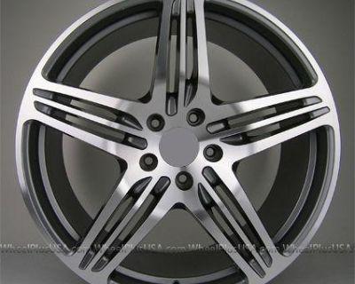 19 19x8.5/19x10.5 Porsche Turbo Style 911 928 996 997 C2 C2s Carerra Wheels Rims