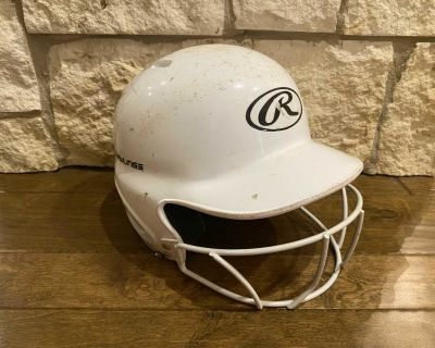 *FREE* Rawlings tball helmet with guard. Size 6 1/4- 6 7/8