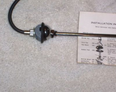 1947-1954 Oldsmobile 88,98 Front Fender Radio Antenna New By Ward Antenna Co.
