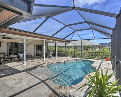 Canalfront Cape Coral Retreat: Private Dock & Pool - Caloosahatchee