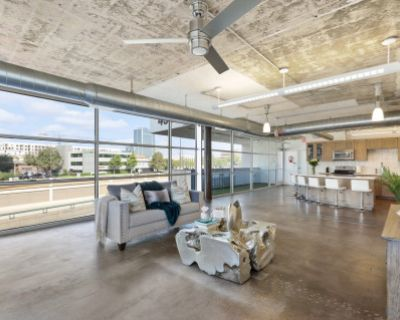 Unique MUST SEE Industrial loft with private roof top, Dallas, TX