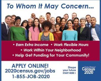 2020 CENSUS JOBS