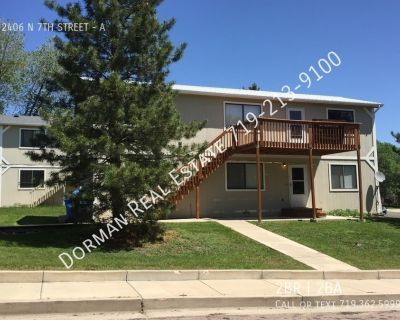 2 Bedroom duplex on the west side!