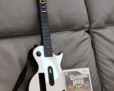 "Wii Guitar Hero ""Aerosmith"" bundle"