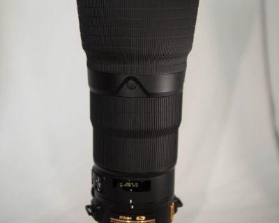 AF-S Nikkor 400mm 2.8E FL ED Lightly Used!!!