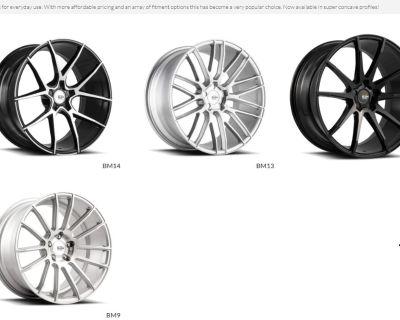 """Savini Wheels BM Series BM10 BM11 BM12 BM13 BM14 BM15 -19""""-22"""""""
