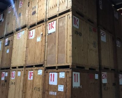 35 SEALED STORAGE VAULTS - LIVE ONSITE AUCTION