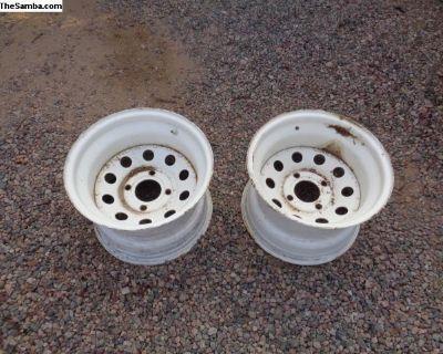 wide 4 bolt wheels / rims