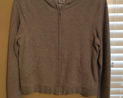 Old Navy gray hooded jacket size Large