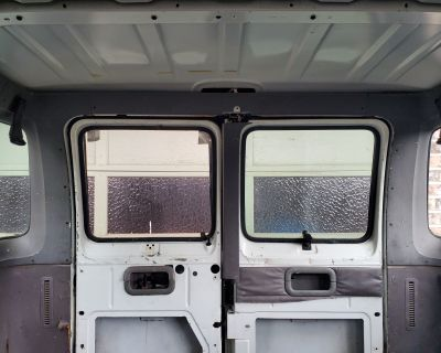 Drivers Side Window w/mount, Passenger Side Manual Mirror, Right Rear double door window without tint glass hole pop out