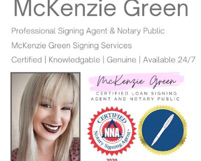 Mobile Notary Public and Signing Agent