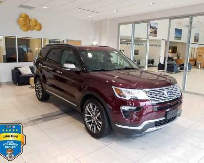 Used 2018 Ford Explorer 4WD