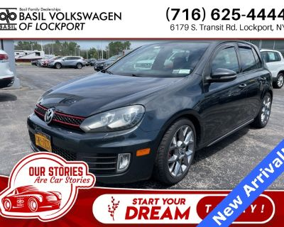Pre-Owned 2013 Volkswagen GTI Driver's Edition With Navigation
