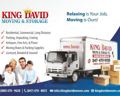King David Moving Company - Chicago Movers
