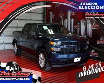 """2021 Chevrolet Silverado 1500 2WD Crew Cab 147"""" Custom"""