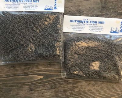 New in package authentic fish net