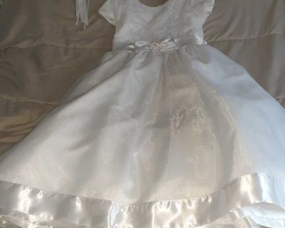 Communion dress with crown
