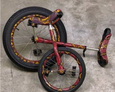 Bespoke father & son Unicycles