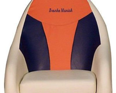 Captain/ Helm Seat For Boat/pontoon...american Made