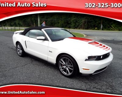 Used 2012 Ford Mustang GT Premium Convertible