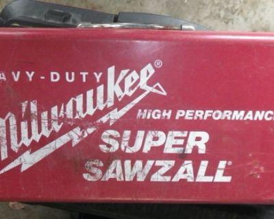 Milwaukee Sawzall 6527