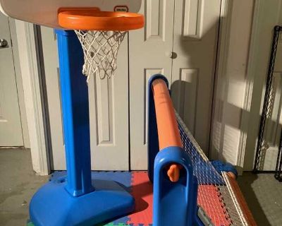 Little Tikes Basketball and Soccer Set