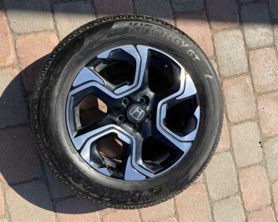 CRV 18 Rims All Season Tires