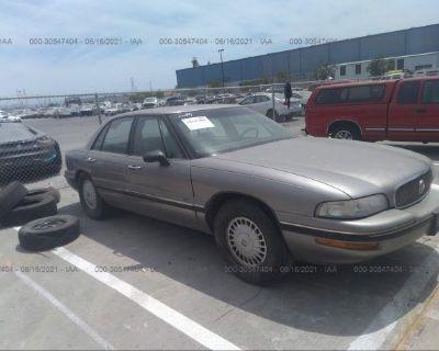 Salvage Silver 1997 Buick Lesabre