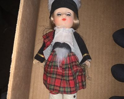 DOLLS Of All Nations No.140 Scotland Series 1 Dolls For Collectors(Unboxed)