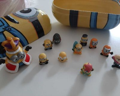 Minions with tin can