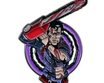 Evil Dead Army of Darkness Pin