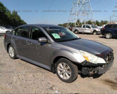 Salvage Gray 2011 Subaru Legacy