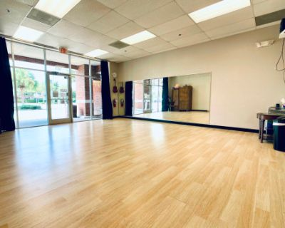 Dance Studio with Great Wood Flooring & Light, Oviedo, FL
