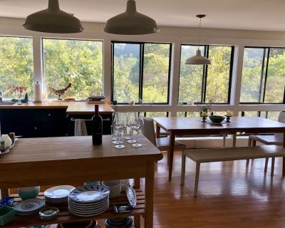 Magical House in the Trees with Water View - Secluded Area - Aquinnah