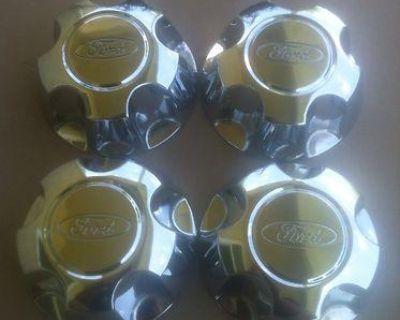 98-07 Ford Explorer Ranger Wheel Center Caps Ford Part# Yl24-1a096-cb Set 4