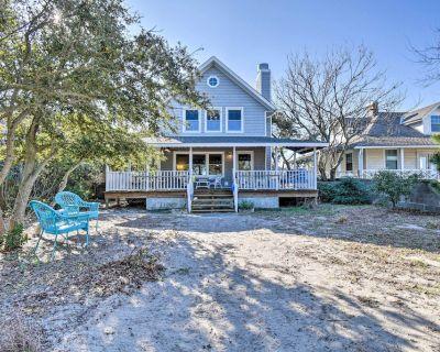 NEW! Classic Chesapeake Beachside Cottage w/ Porch - Cottage Line