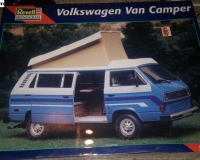 revell monogram vanagon camper van