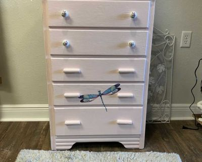 Rustic small dresser/delivery available for a fee