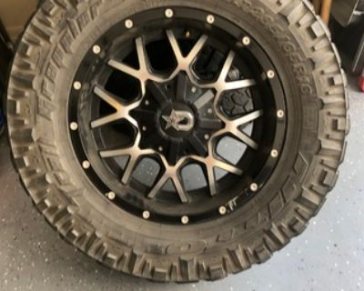 18 rims and tires