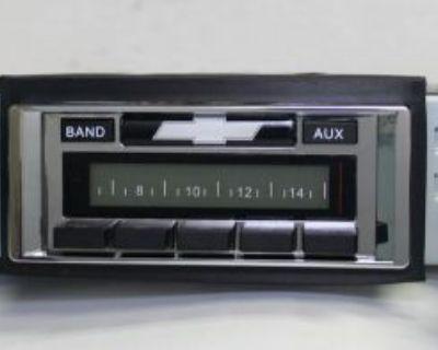 1967 1968 67 68 Chevy Impala Radio Am/fm Usa 230 Custom Autosound Aux Mp3