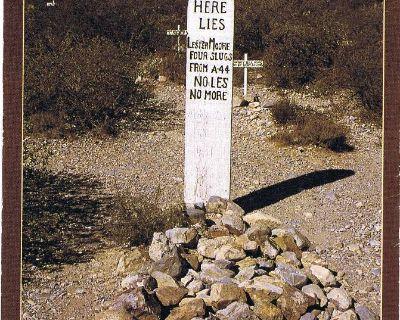 Boothill Graveyard, Tombstone, AZ - Lester Moore Grave - Vtg Postcard