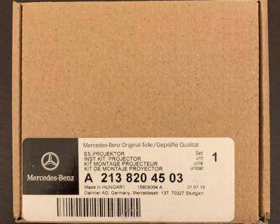 2015-2019 Mercedes Benz C300 GLC300 Front Door LED OEM Projectors A2138204503