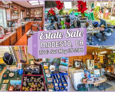 Large Estate Sale in Modesto by Treasures to Find