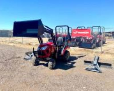 2021 Yanmar 221CX-TL 4x4 24 BHP Tractor With Loader