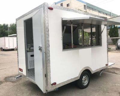 Wholesale Price food trucks mobile food trailer outdoor mobile solar trailer for BBQ - Mobile Food Truck/Trailer / TS-TN40 / 6