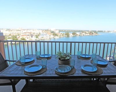 Top Floor Privacy and Penthouse Views! Designer D cor New in 2019 Harborview Grande #806 - Clearwater Beach