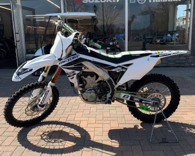 2016 Kawasaki KX450F Motocross Off Road Osseo, MN