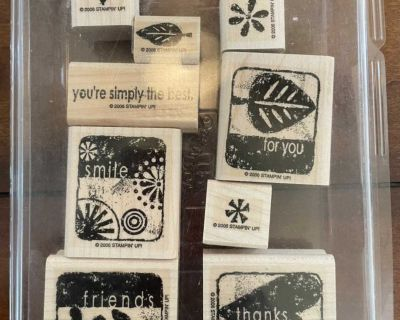 Simply the Best Rubber Stamp Collection
