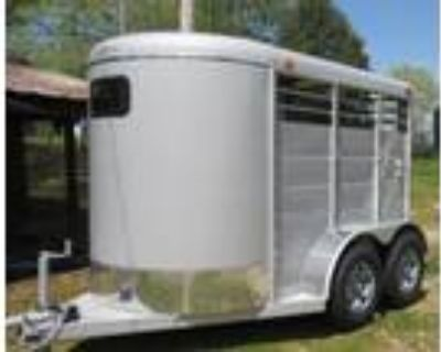 2021 Calico 10 Ft Bumper Pull Stock Trailer 2 horses