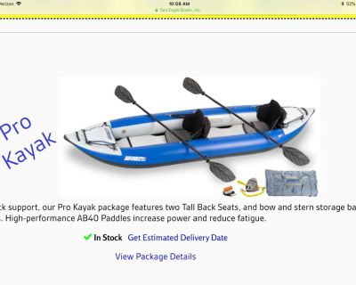 Sea Eagle 380X Pro Inflatable Kayak